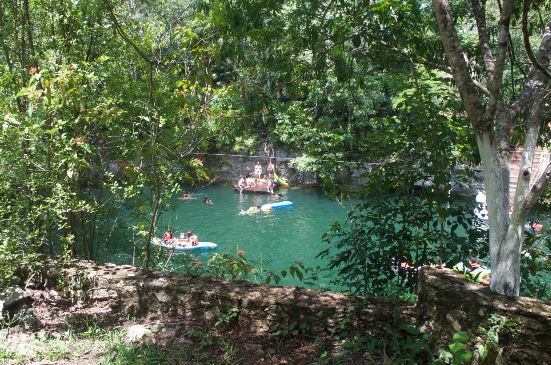 como llegar al cenote popol vuh